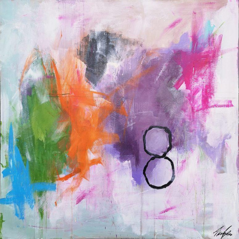 8, abstrakt maleri