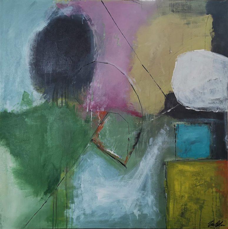 Alvor, abstrakt maleri