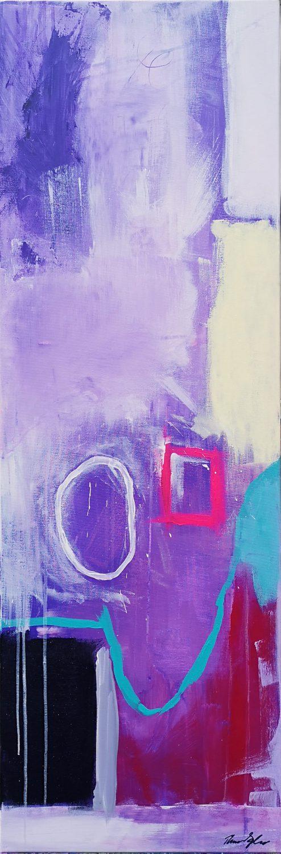 Morgen-hår, abstrakt maleri