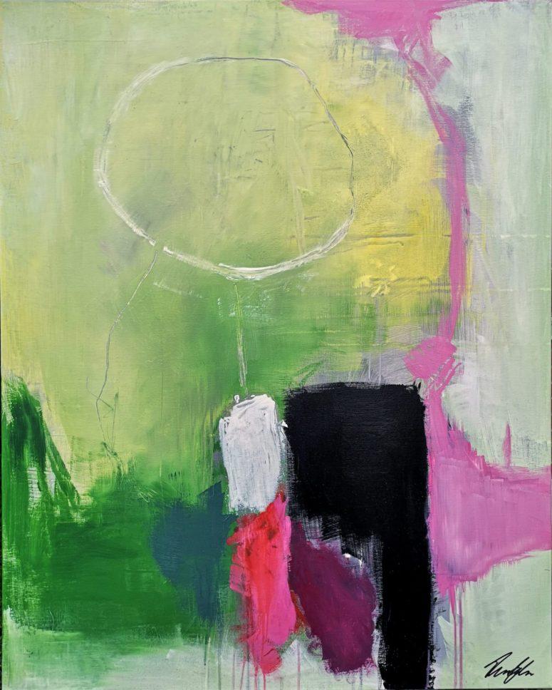 Søndag, abstrakt maleri
