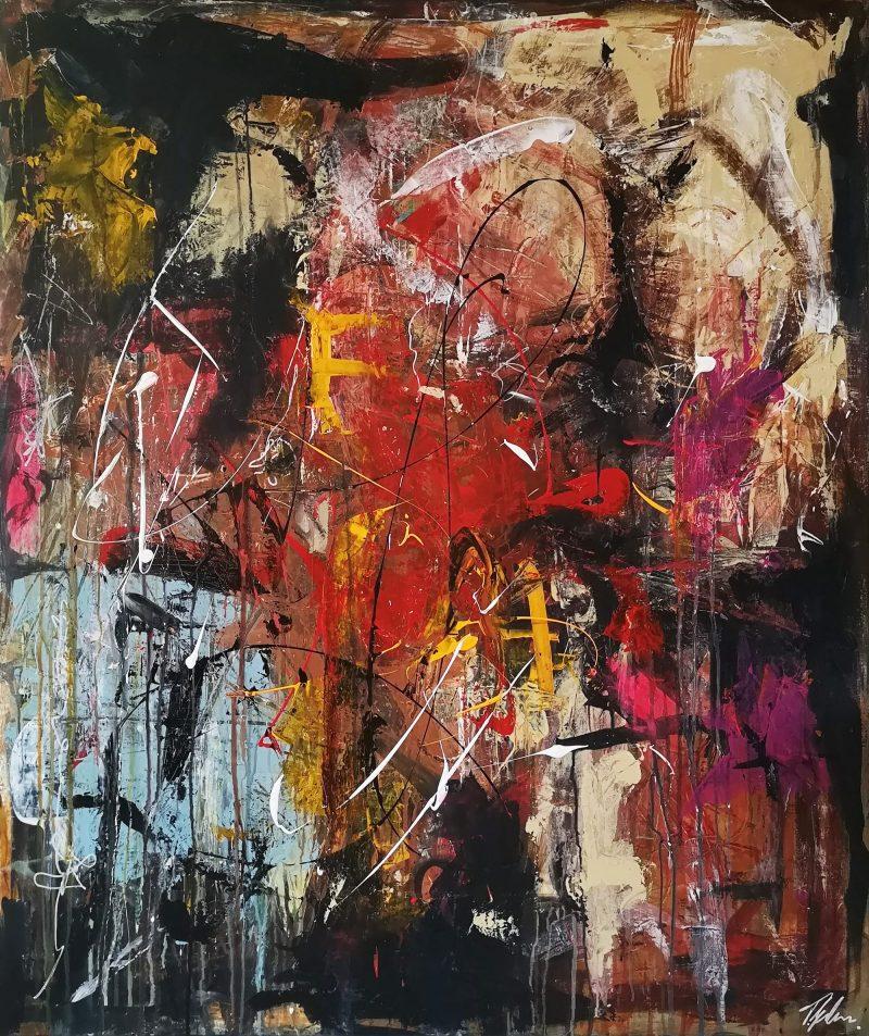 Opera - abstrakt maleri af Thomas Jacobsen